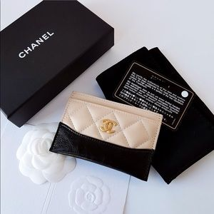 37b4313570a8 CHANEL Bags   Gabrielle Beige Card Holder   Poshmark